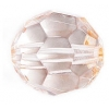 Acrylic Bead Facetted Round Shape 20mm Light Brown